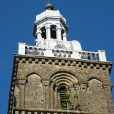 Un jeune arbre embusqué dans le clocher de la basilique( © M Olivier Thiébaut (PNRM) )